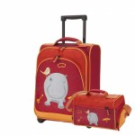 Travelite Youngster Hippo gyerek bőrönd + táska