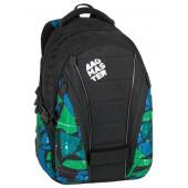 BAG 7 F BLACK/GREEN/BLUE Bagmaster Diák hátizsák