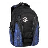 BAG 7 G BLACK/BLUE/WHITE Bagmaster Diák hátizsák