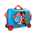 Disney Mickey Vespa ABS 4-kerekes gyermekbőrönd