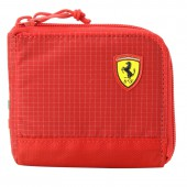 Scuderia Ferrari Fanwear Wallet Rosso Corsa-Puma Black pénztárca