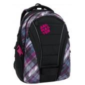 Bagmaster diák hátizsák BAG 6 C BLACK/BLUE/PINK