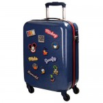 Disney Mickey Parches 4-kerekes gyermekbőrönd 54 cm
