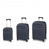 Gabol Wrinkle 4-kerekes bőrönd szett