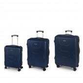 Gabol Custom bézs 4-kerekes bőrönd szett