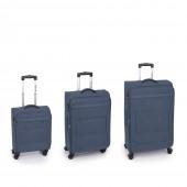 Gabol Board 4-kerekes bővíthető trolley bőrönd szett