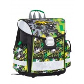 Bagmaster LIM 7 D GREEN/YELLOW/BLACK iskolatáska